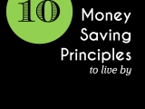 eBook: 10 Money Saving Principles To LiveBy
